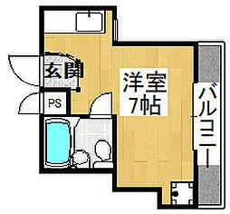 シャルマンニシキマチ[2階]の間取り