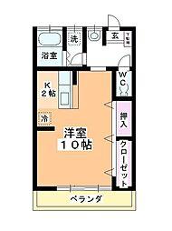小川マンション[205号室]の間取り