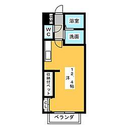 サン・friendsF岩崎[2階]の間取り