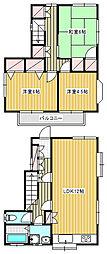 [一戸建] 神奈川県茅ヶ崎市高田1丁目 の賃貸【/】の間取り
