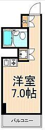 セピアビューハイツ上野[806号室]の間取り