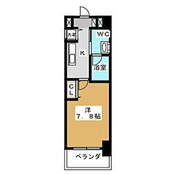レジディア丸の内[15階]の間取り