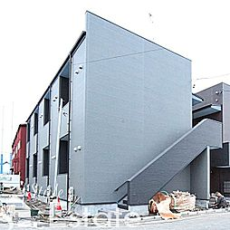 愛知県名古屋市中川区露橋2丁目の賃貸アパートの外観