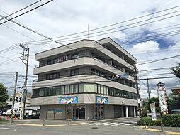 神奈川県厚木市妻田西1丁目の賃貸マンションの外観