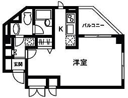 ロワジール三軒茶屋[2階]の間取り