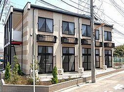 東京都足立区西加平2丁目の賃貸アパートの外観