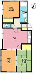 サンシャイン浅間台[1階]の間取り