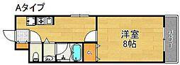 ヴィラスミノエ[1階]の間取り