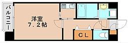 エスポガーデン[4階]の間取り
