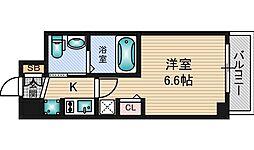 エステムコート新大阪9グランブライト[5階]の間取り