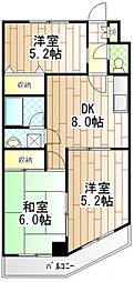 パークハイム渋谷[1003号室]の間取り