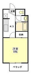 オーキットハイム[2階]の間取り