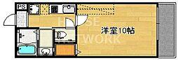 京洛マンション[208号室号室]の間取り