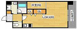 DiasII 鶴見6丁目新築[403号室号室]の間取り