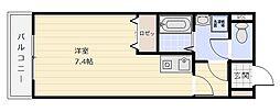 レジデンス・ミヨ[302号室]の間取り