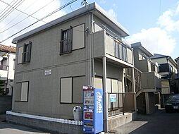 兵庫県尼崎市東園田町2丁目の賃貸アパートの外観