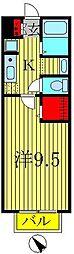 セジュール・ハッセブ[1階]の間取り