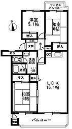 我孫子ビレジ 14号棟 3階