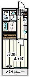 JR埼京線 武蔵浦和駅 徒歩4分の賃貸マンション 1階1Kの間取り