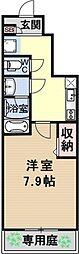 仮称)伏見小栗栖プロジェクト[107号室号室]の間取り