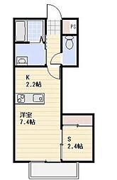 ruscello[2階]の間取り
