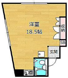 カイザ57[3階]の間取り