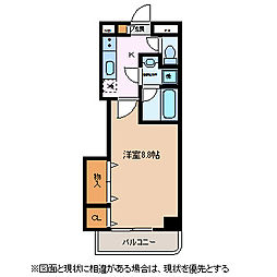 ブレインマンション・K5[3階]の間取り