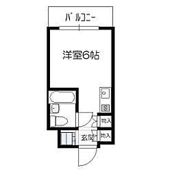 ラ・メールコバタ[2階]の間取り