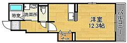 ノーブルツカサチ[1階]の間取り