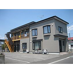 北海道北見市柏陽町の賃貸アパートの外観