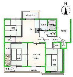 鎌ヶ谷グリーンハイツ 34号棟4階 34号棟