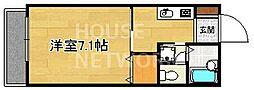 下京区/サラプリマリア[102号室号室]の間取り