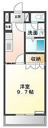 マナ・ハウス[2階]の間取り