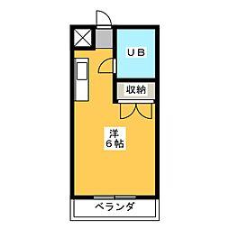リエス稲川[2階]の間取り
