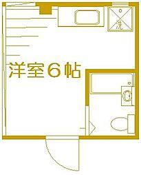 塚平ビル[4階]の間取り