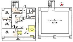 「京王多摩川」駅歩2分「屋上」付「最上階」「角住戸」