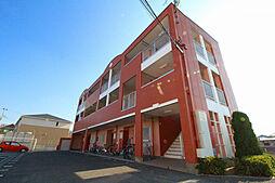 兵庫県三木市加佐字八ヶ坪の賃貸マンションの外観