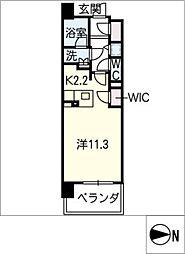 ロイヤルパークスERささしま(東棟)[3階]の間取り