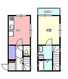 [テラスハウス] 神奈川県茅ヶ崎市十間坂3丁目 の賃貸【/】の間取り