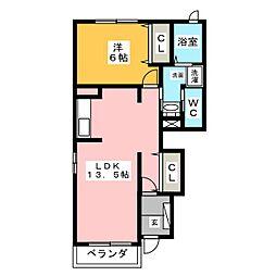 エリア88[1階]の間取り