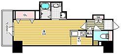 D'TOWER 城北[4階]の間取り
