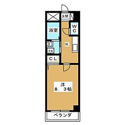 カーサV[1階]の間取り