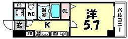 プレミアム本町[801号室]の間取り