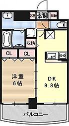 サムティ京都二条[604号室号室]の間取り