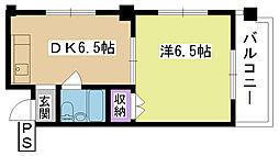 第2清和マンション[203号室]の間取り
