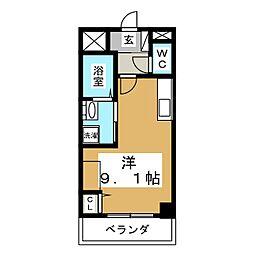 ノーブルコート台原[2階]の間取り