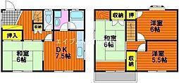 [一戸建] 岡山県岡山市東区東平島丁目なし の賃貸【/】の間取り