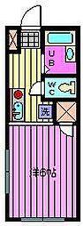 埼玉県さいたま市南区神明2丁目の賃貸アパートの間取り