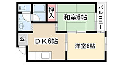 PIA TAIHO[303号室]の間取り