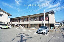 福岡県福岡市博多区東月隈3丁目の賃貸アパートの外観